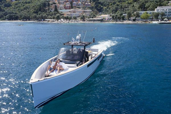corfu yachts charter fjord 40 open luxury transfer 06